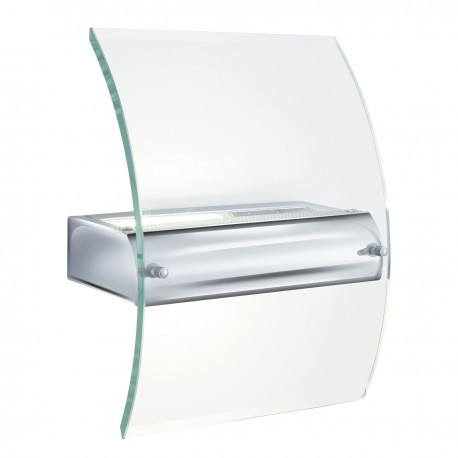 Curve Glass Wall Light Low Energy