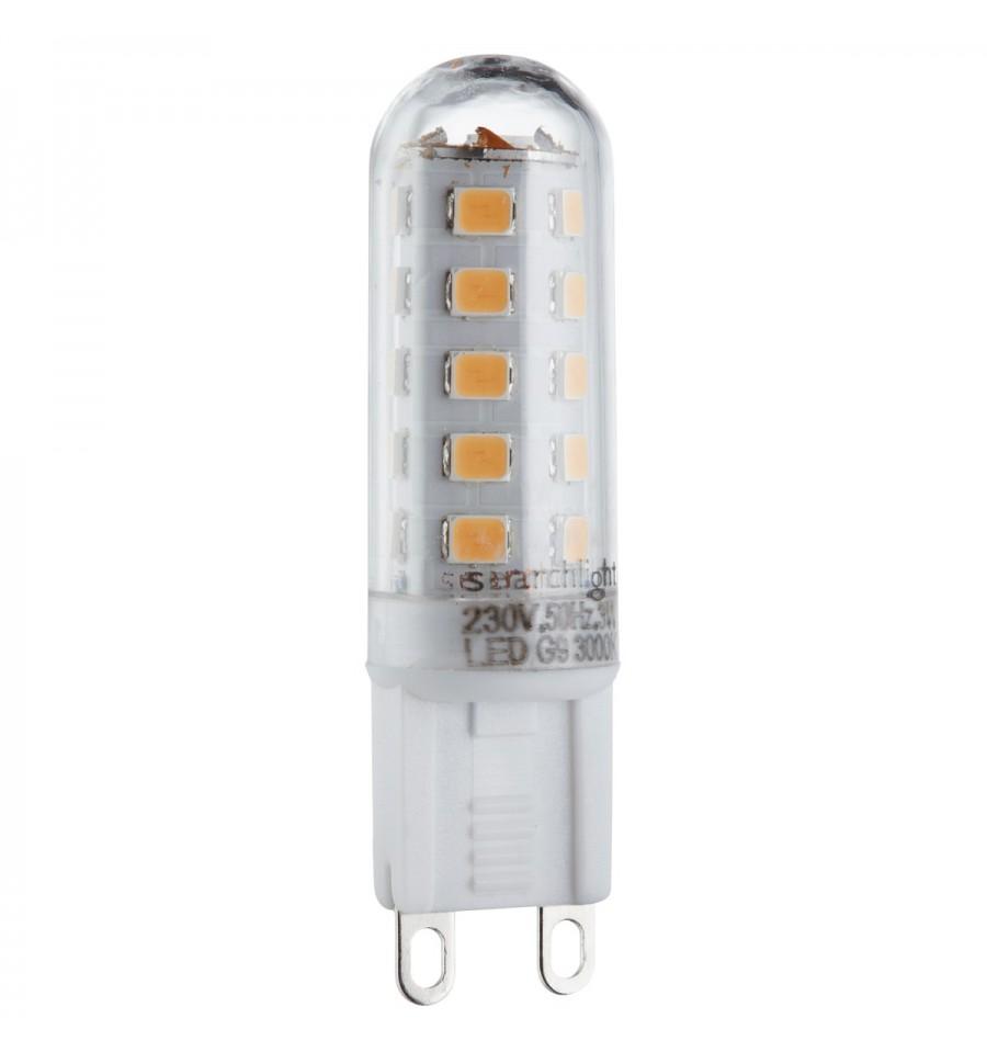3w G9 Led Bulb 300 Lumens Hegarty Lighting Ltd