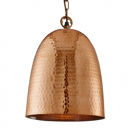 Hammered Bell Pendant 26cm