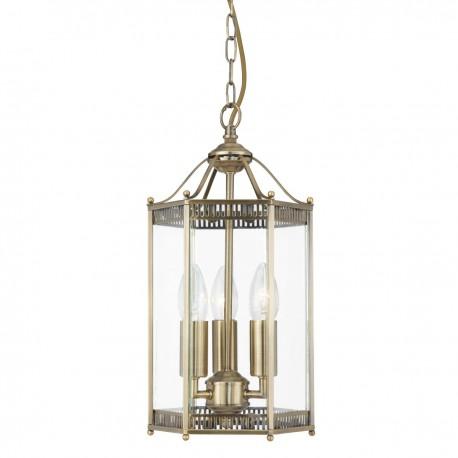 Lantern Hexagonal 3 Bulb