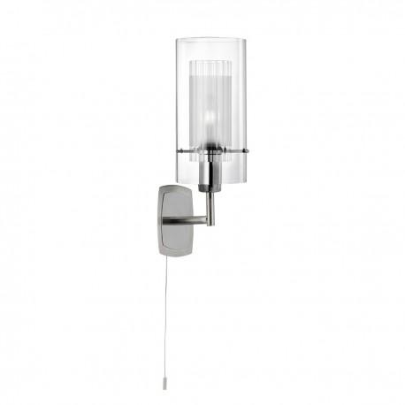 Duo I - Double Glass 1 Light Wall Bracket
