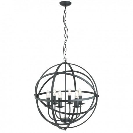 Orbit 6 Light Pendant