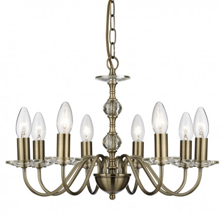 Monarch 8 Light Ceiling Fitting