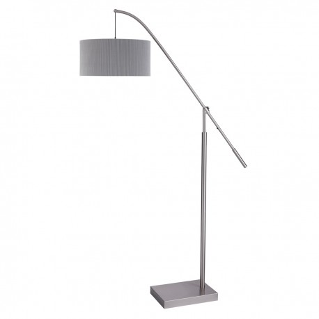 Arcs floor lamp cream pleat shade hegarty lighting ltd arcs floor lamp cream pleat shade loading zoom aloadofball Choice Image