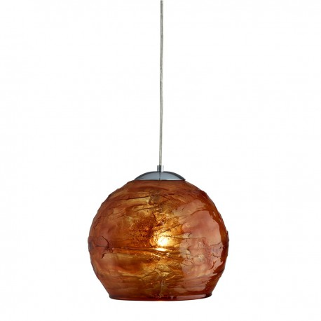 Crackle 1 Light Pendant