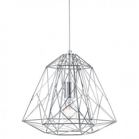 Geometric Cage 1 Light Frame Pendant