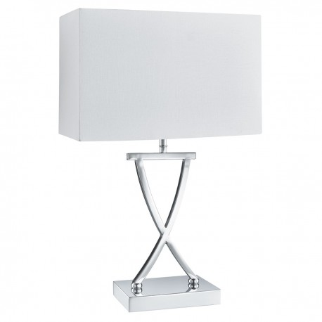 X Shaped Table Lamp