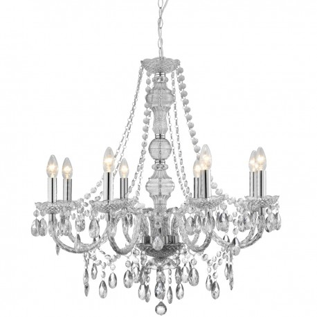 Marie Therese 8 Light Acrylic Chandelier
