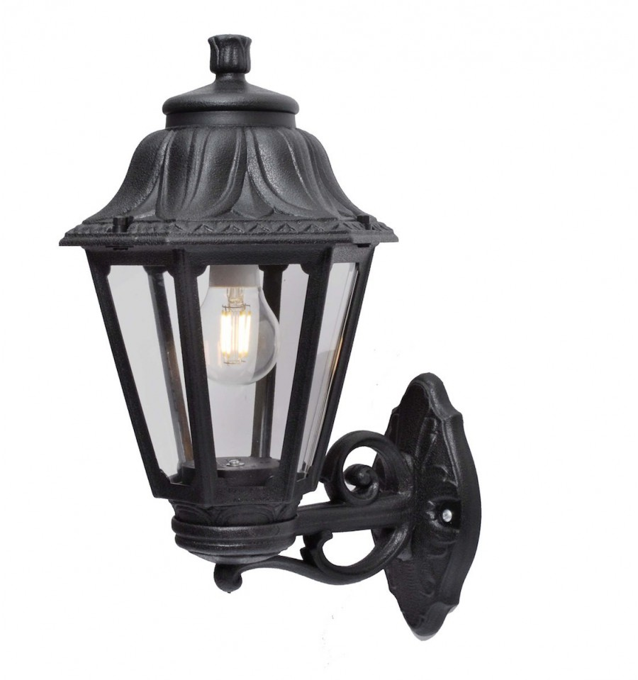Hexagonal Lantern And Bracket In The Classic Style