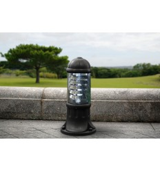 Sauro 500mm Black Bollard Post Light