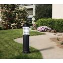 Sauro 800 mm Black Bollard Post Light