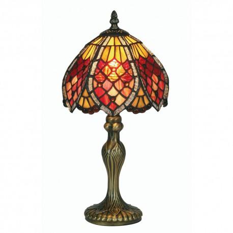 """Orsino Tiffany Table Lamp 8"""""""