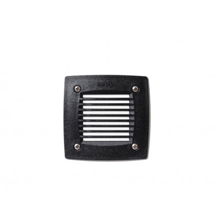Leti 100 Square Grid Opal LED GX53 3W Recessed Wall Light