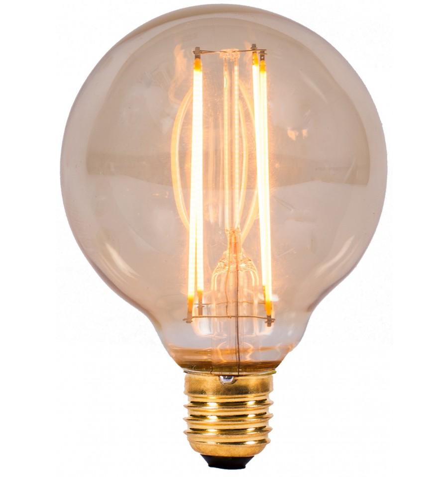 Vintage 4w Led Globe E27 Bulb Hegarty Lighting Ltd