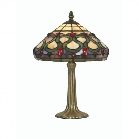 "Oberon Tiffany Table Lamp 10"""