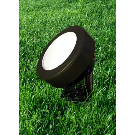 Tommy Spike Black Frosted LED GX53 10W 4000K Spotlight