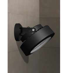 Tommy Wall Black Frosted LED GX53 10W 4000K Spotlight