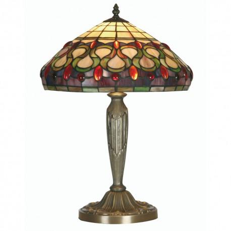 "Oberon Tiffany Table Lamp 14"""