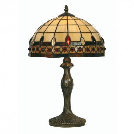 Flute Tiffany Table Lamp 12""