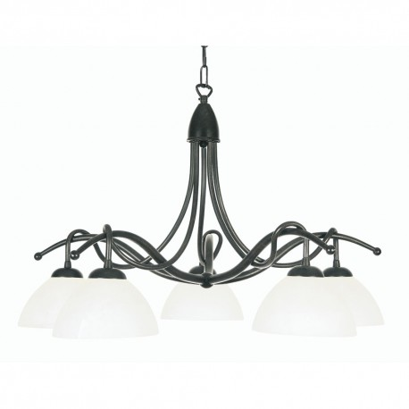 Country 5 Light Pendant