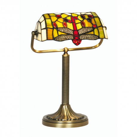 Dragon Fly Bankers Lamp