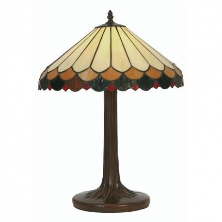 "Lysander Tiffany Table Lamp 16"""