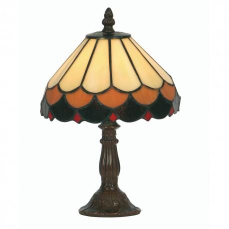 "Lysander Tiffany Table Lamp 8"""