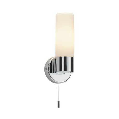 Pure IP44 Switched Chrome Wall Light