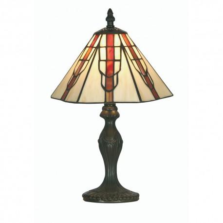 """Tiffany 10"""" Viola Table Lamp"""