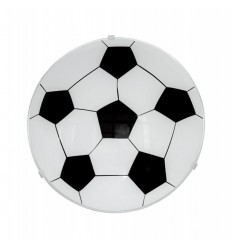 Football Semi-flush Light Fitting