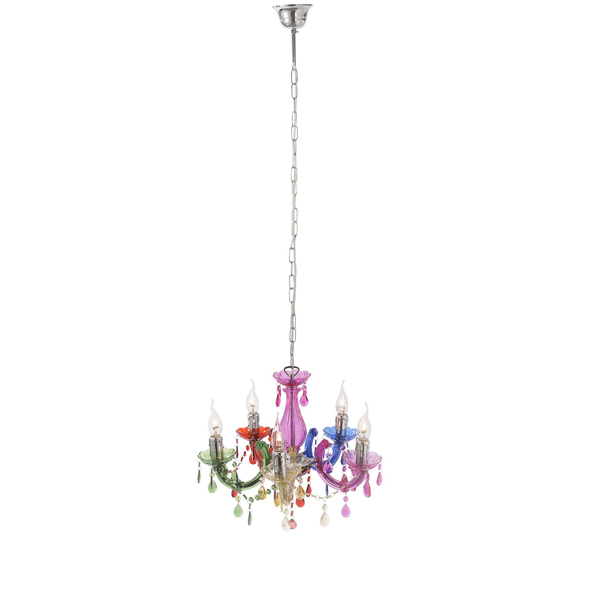 maar chrome products wofi led ambiente light chandelier shack pendant