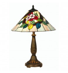 "Belle Tiffany Table Lamp 16"""