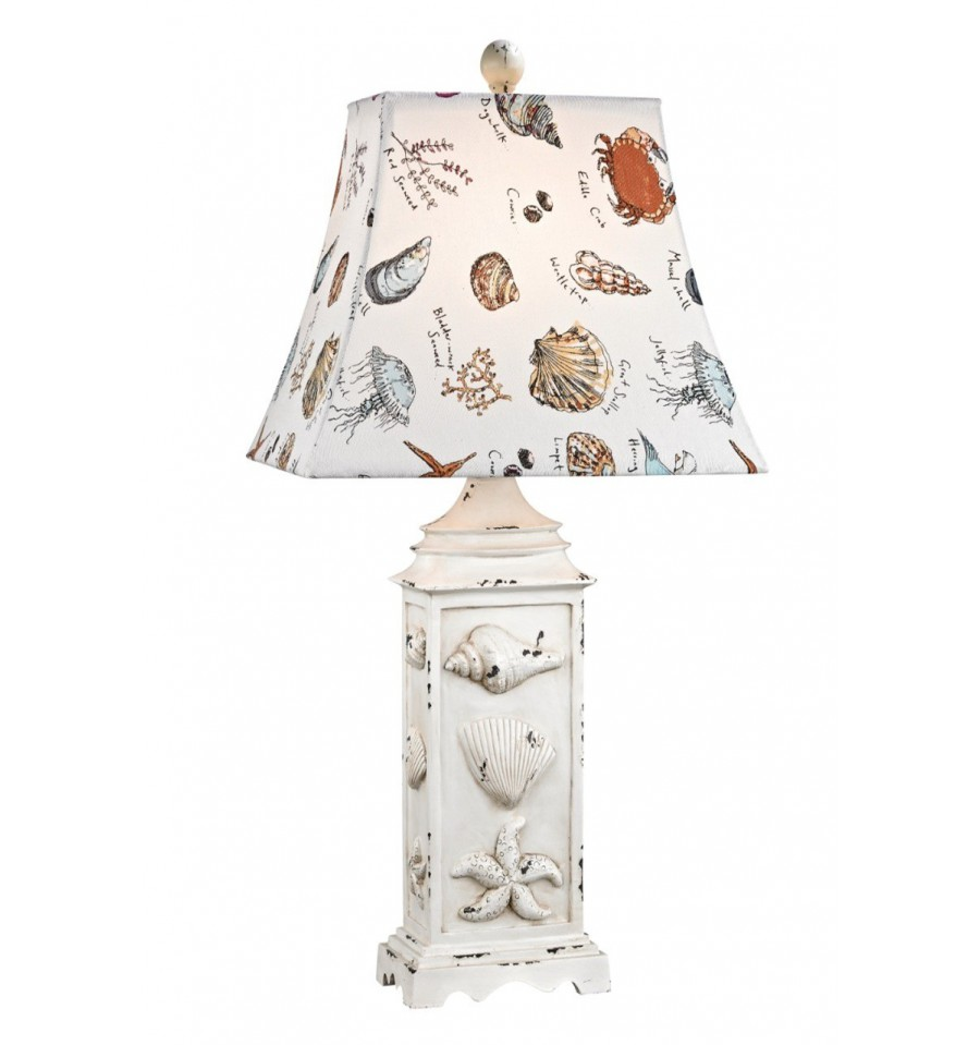 Seaside scene table lamp hegarty lighting ltd