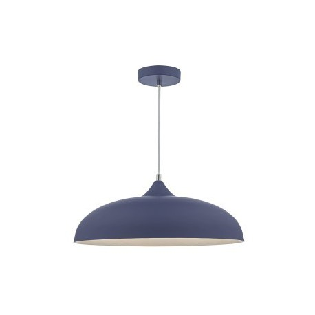 Kaelan 1 Light Pendant Blue & White