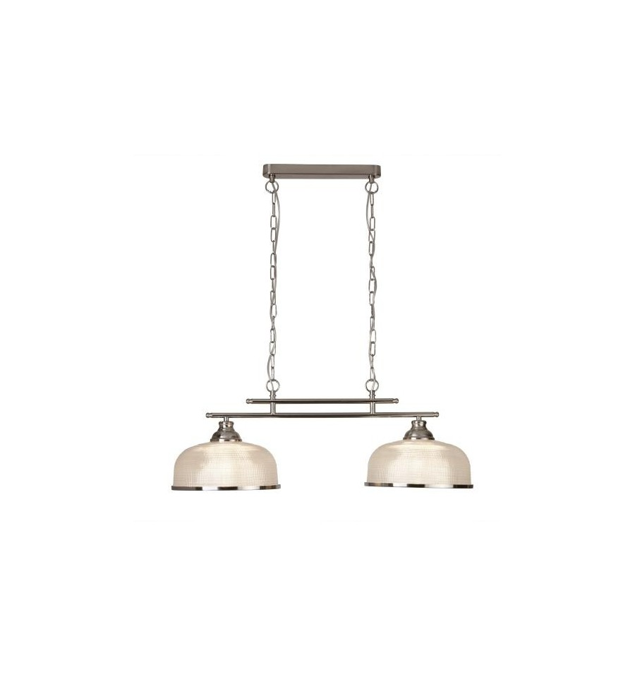 Bistro ii 2 light industrial ceiling bar pendant loading zoom