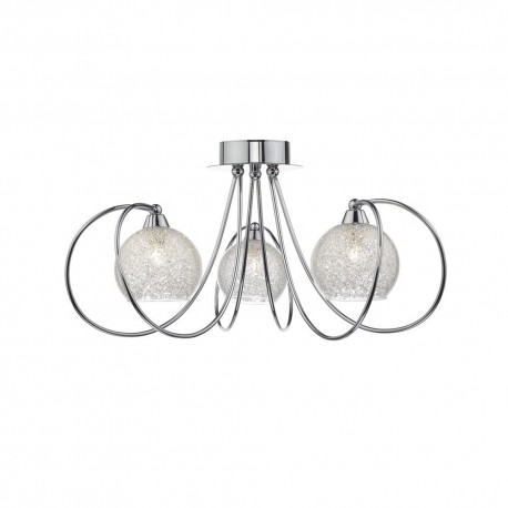 Rafferty 3 Light Semi Flush Fitting