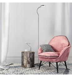 Adjustable LED Round Flexi-Head Floor Lamp