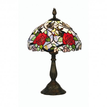 Flite Tiffany Table Lamp 12""