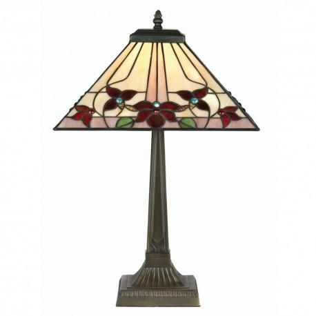 """Camillo Tiffany Table Lamp 14"""""""