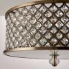 Hudson 3 Light Semi-Flush Pendant