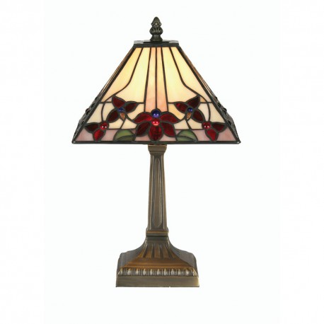 """Camillo Tiffany Table Lamp 9"""""""