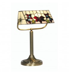 Camillo Tiffany Bankers Lamp