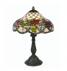 Adara Tiffany Table Lamp 12""
