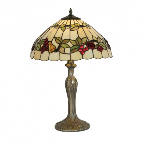 Fruit Tiffany Table Lamp 16""