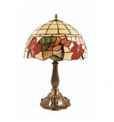 "Border Tiffany Table Lamp 16"""