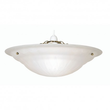 Large Mita Alabaster Glass Shade