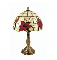 "Border Tiffany Table Lamp 8"""