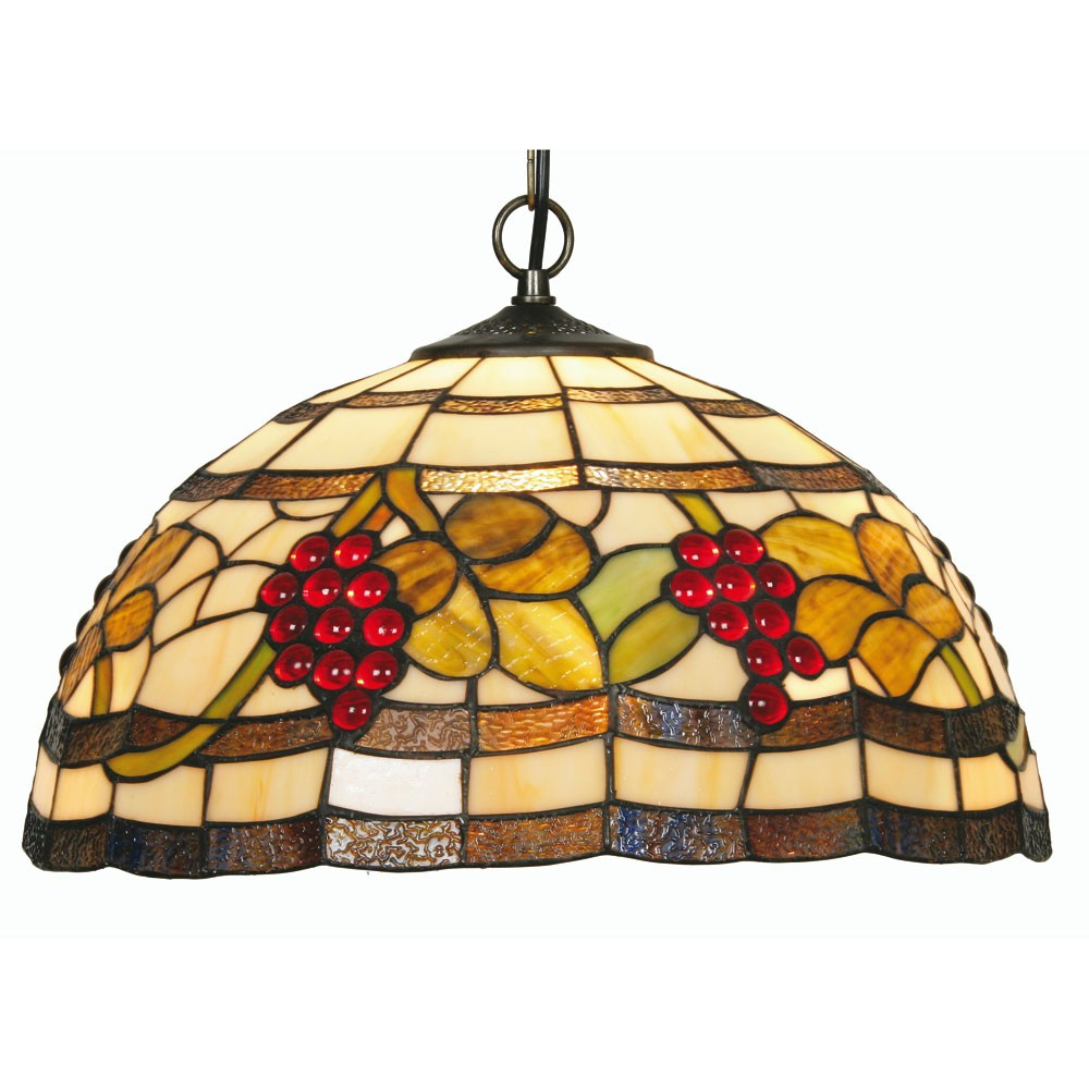 Grapes tiffany pendant light hegarty lighting ltd