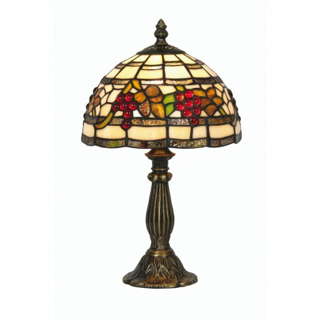 Grapes Tiffany Table Light 8""