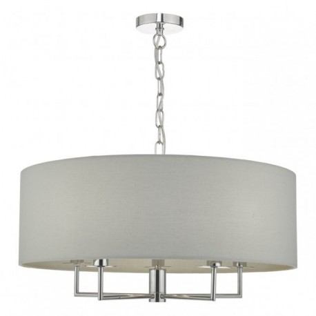Jamelia 5 Light Pendant Grey
